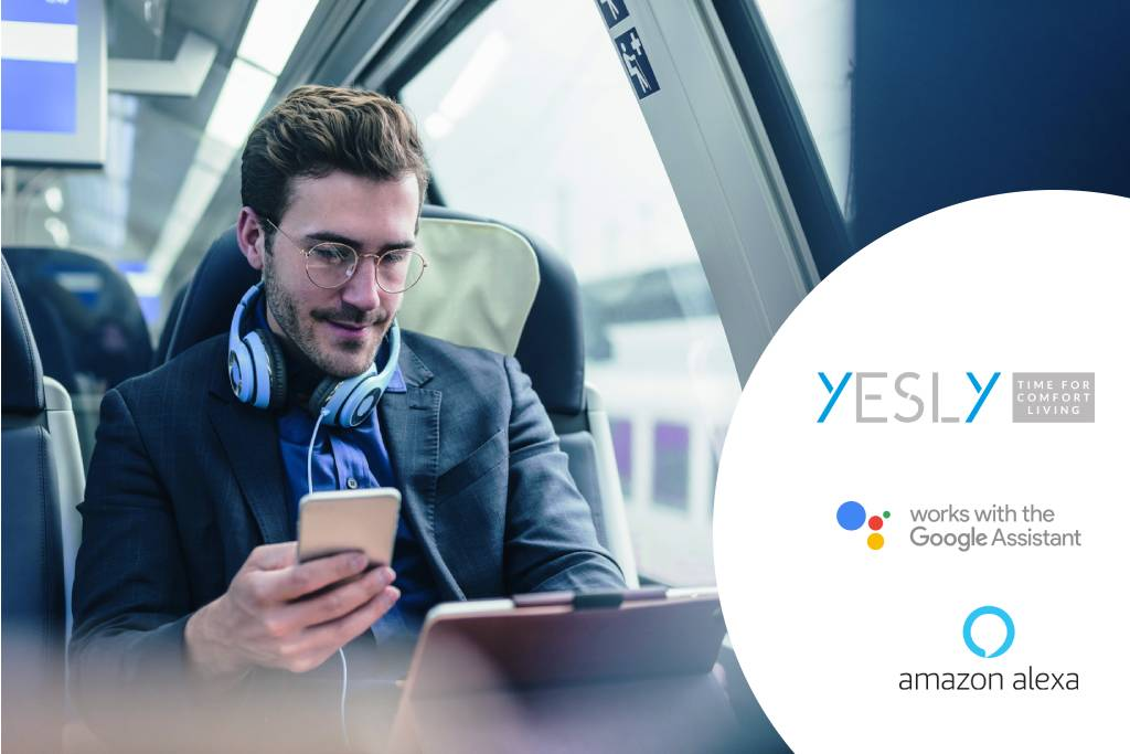 Image Współpraca YESLY z Asystentem Google i Amazon Alexa